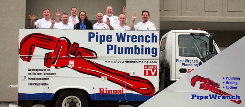Pipe Wrench Plumbing Staff